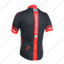 2014 Team PINARELLO Bicycle Jersey Black Red