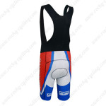 2014 Team PINARELLO Biking Bib Shorts White Blue Red