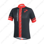 2014 Team PINARELLO Cycling Jersey Black Red