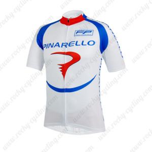 2014 Team PINARELLO Cycling Jersey White Blue Red