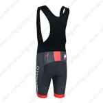 2014 Team PINARELLO Riding Bib Shorts Black Red
