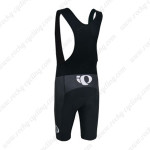 2014 Team Pearl Izumi Biking Bib Shorts Black White Blue