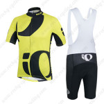 2014 Team Pearl Izumi Cycling Bib Kit Yellow Black