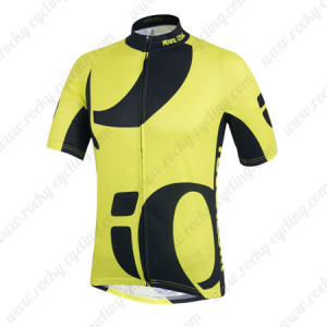 2014 Team Pearl Izumi Cycling Jersey Yellow Black