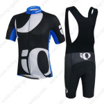 2014 Team Pearl Izumi Riding Bib Kit Black White Blue