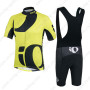 2014 Team Pearl Izumi Riding Bib Kit Yellow Black
