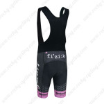 2014 Team SCOTT Bicycle Bib Shorts Black Pink