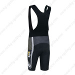 2014 Team SCOTT Riding Bib Shorts Black White Yellow