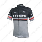 2014 Team TREK Cycling Jersey Black Grey