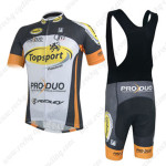 2014 Team Topsport PRO-DUO Riding Bib Kit
