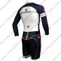 2015 Team 3T Long Sleeves Triathlon Riding Clothing Skinsuit Black White