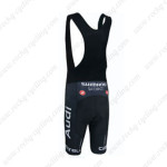 2015 Team Audi Cycling Black Bib Shorts