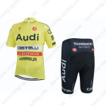 2015 Team Audi Cycling Kit Yellow