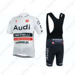 2015 Team Audi Riding Bib Kit White