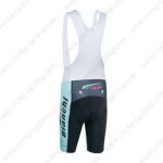 2015 Team BIANCHI Cycling White Bib Shorts