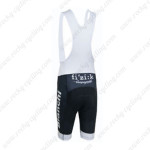 2015 Team BIANCHI Pro Cycling White Bib Shorts