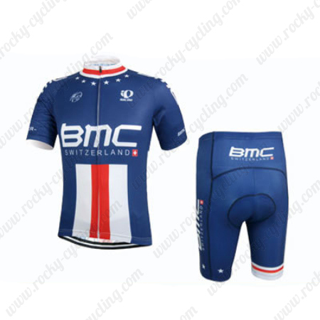 2015 Team BMC Riding Outfit Summer Winter Cycle Jersey and Padded ... 369dfce9c