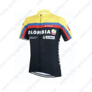 2015 Team COLOMBIA Cycling Jersey Black