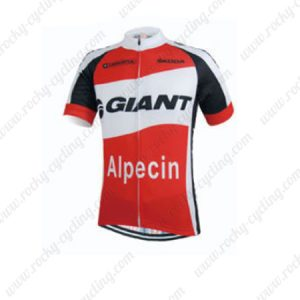 2015 Team GIANT Alpecin Cycling Jersey Red White