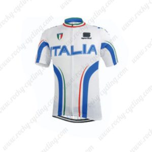 2015 Team ITALIA Cycling Jersey White