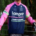 2015 Team Lampre MERIDA Cycling Raincoat Wind-proof Pink Blue