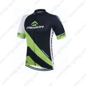 2015 Team MERIDA Cycling Jersey Black Green