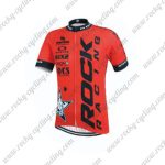 2015 Team ROCK RACING Cycling Jersey Red