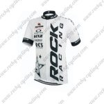 2015 Team ROCK RACING Cycling Jersey White