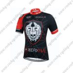 2015 Team ROCK RACING Pro Cycling Jersey Black Red