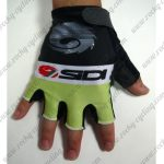 2015 Team SIDI Cycling Gloves Mitts Black Green