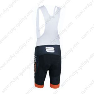 2015 Team Sportful Cycling Bib Shorts Black