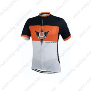2015 Team Sportful Cycling Jersey Orange White