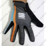2015 Team Sportful Cycling Long Gloves Full Fingers
