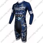 2015 Team Tinkoff SAXO BANK Long Sleeves Triathlon Biking Clothing Skinsuit Camo