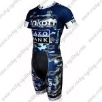 2015 Team Tinkoff SAXO BANK Short Sleeves Triathlon Cycling Wear Skinsuit Camo