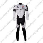 2010 Team Cervelo 3T Bicycle Long Suit White