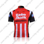 2010 Team RadioShack Mellow Johnny's Cycling Jersey Red