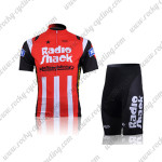 2010 Team RadioShack Mellow Johnny's Cycling Kit Red