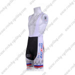 2011 Team KATUSHA Cycling Bib Shorts White