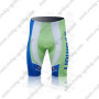 2011 Team LIQUIGAS cannondale Cycling Shorts White Green Blue