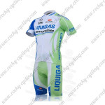 2011 Team LIQUIGAS cannondale Riding Kit White Green Blue