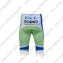 2011 Team LIQUIGAS cannondale Riding Shorts White Green Blue
