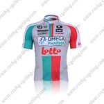 2011 Team LOTTO Cycling Jersey Blue Red