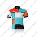 2011 Team Radar La VieClaire Cycling Jersey Blue Red