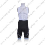 2011 Team TREK Cycling Bib Shorts Black Blue
