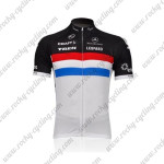 2011 Team TREK Cycling Jersey Red Blue Lines