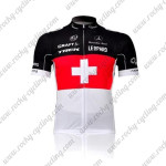 2011 Team TREK Cycling Jersey Red White Cross