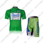 2012 Team LIQUIGAS cannondale Tour de France Cycling Kit Green