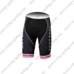 2012 Team Tinkoff SAXO BANK Women's Cycling Shorts Pink