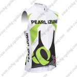 2013 Team PEARL IZUMI Cycling Sleeveless Jersey White Green